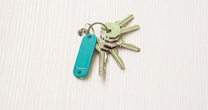 Ключи от квартиры, архивное фото