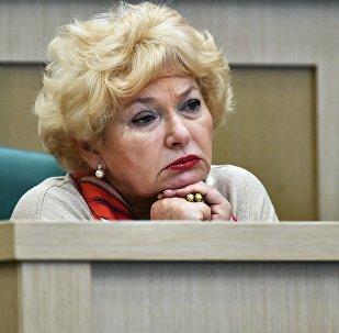 Член Совета Федерации РФ Людмила Нарусова