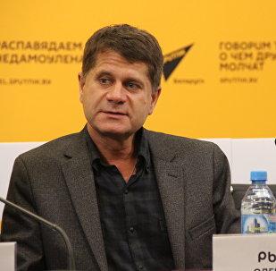 Дырэктар Нацыянальнага гістарычнага музея Рэспублікі Беларусь Алег Рыжкоў