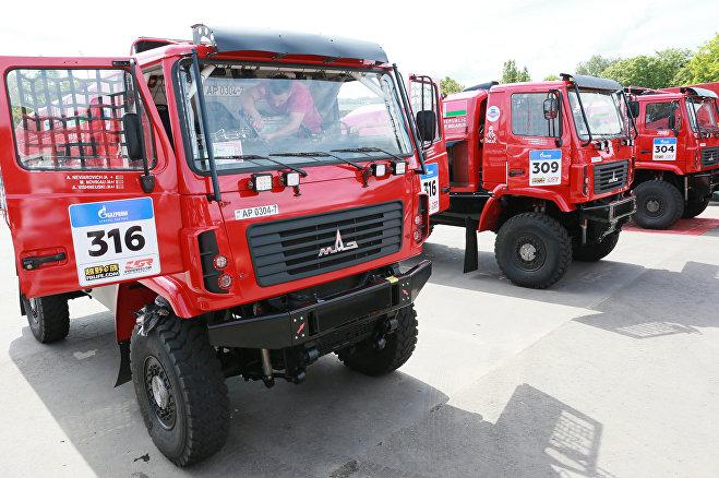 Белорусская команда МАЗ-СПОРТавто
