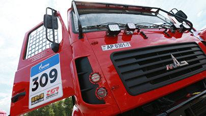 Автомобиль белорусской команды МАЗ-СПОРТавто