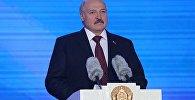 Аляксандр Лукашэнка на рэспубліканскім свяце Купалле