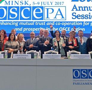 Сессия ПА ОБСЕ в Минске