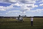 Абдымаючы неба: юбілей аэрадрома з парашутыстамі і самалётамі