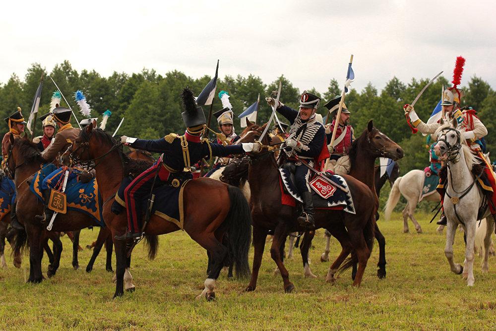 Кавалерыйскі бой патрабуе адпаведнай падрыхтоўкі.