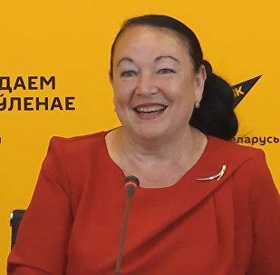 Руководитель общественного объединения Община молдаван Антонина Валько