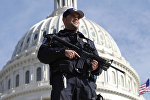 Полицейский у Капитолия, Вашингтон