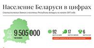 Население Беларуси в цифрах - инфографика на sputnik.by