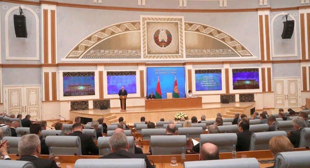 Совещание о приоритетах внешней политики с участием президента Лукашенко