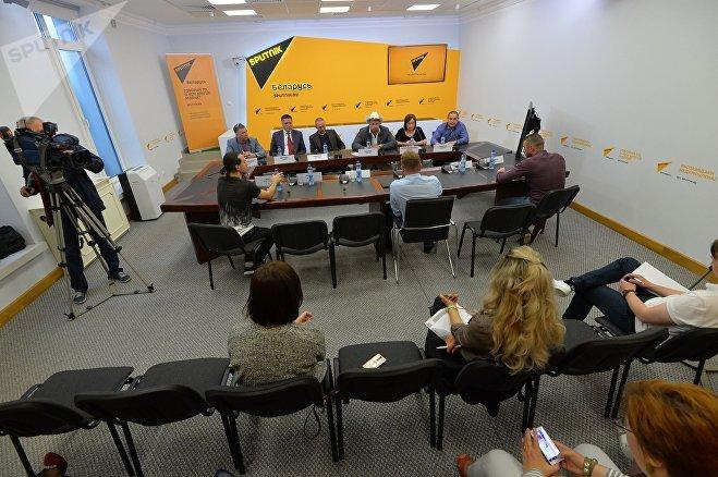 Пресс-конференция SHIMKO собирает друзей в МПЦ Sputnik