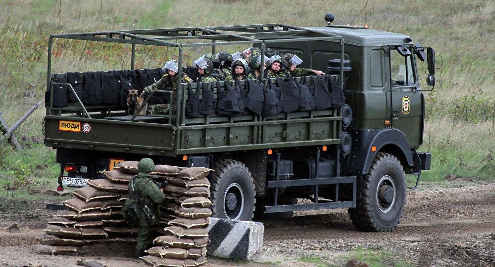 Учения вооруженных сил России и Беларуси Запад-2013
