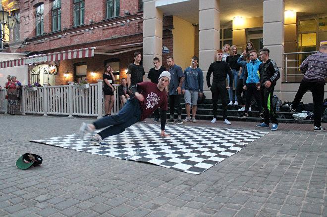 Школа современного танца из Витебска Белка устроила показательные выступления