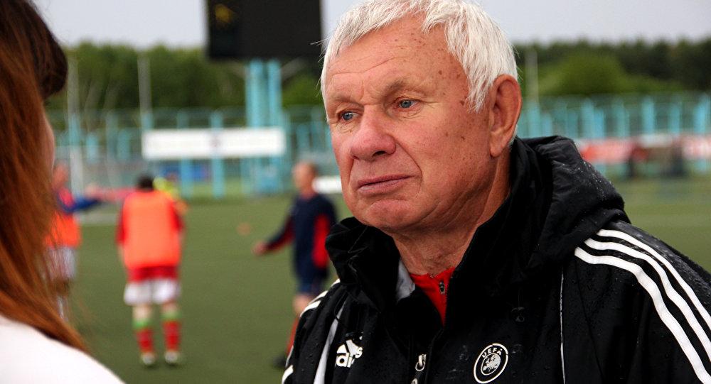 Заслуженный тренер Беларуси Анатолий Усенко