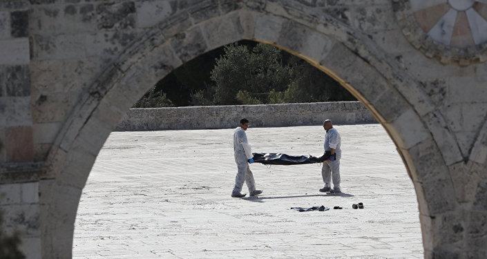 Нападение на полицейских в Иерусалиме