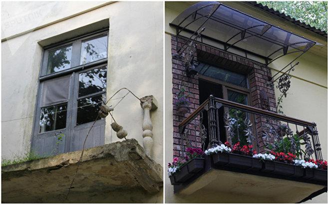 Свои дома жители Осмоловки поддерживают в разном состояниии