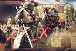 Конны рыцар эпохі Крыжовых паходаў