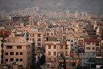 Вид на один из кварталов Тегерана, архивное фото