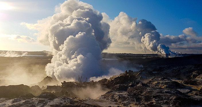 Гейзер у Ісландыі