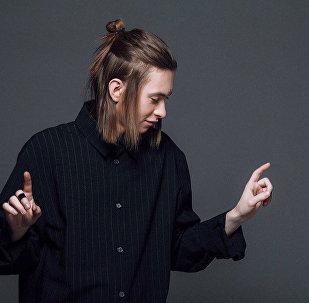 Белорусский певец Егор Шаранков