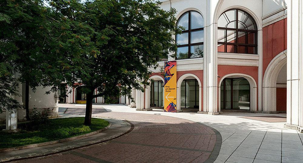 Унутраны падворак Траццякоўскай галерэі