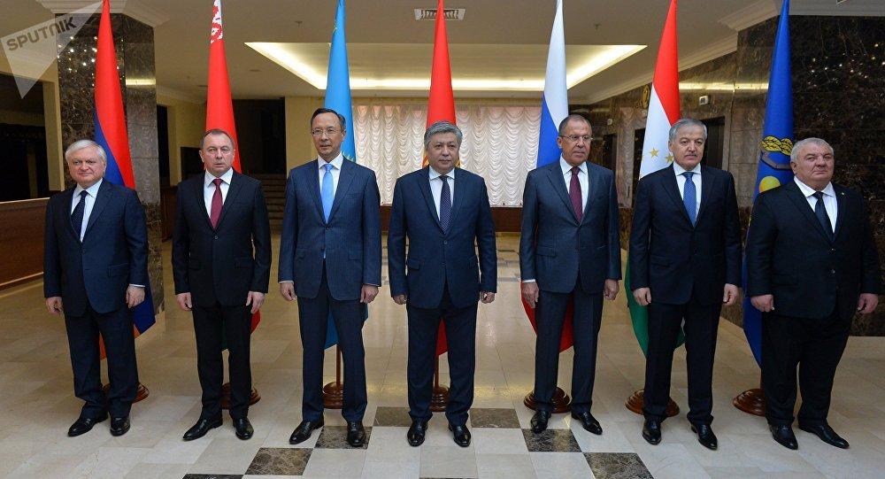 Главы МИД стран ОДКБ в Минске