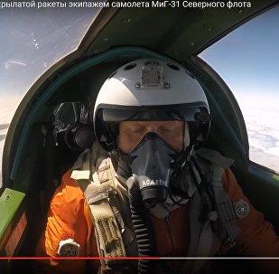Видеофакт: как перехватывают крылатые ракеты с помощью МиГ-31