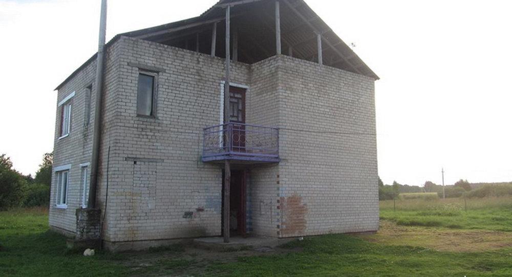 Дом, где нашли труп