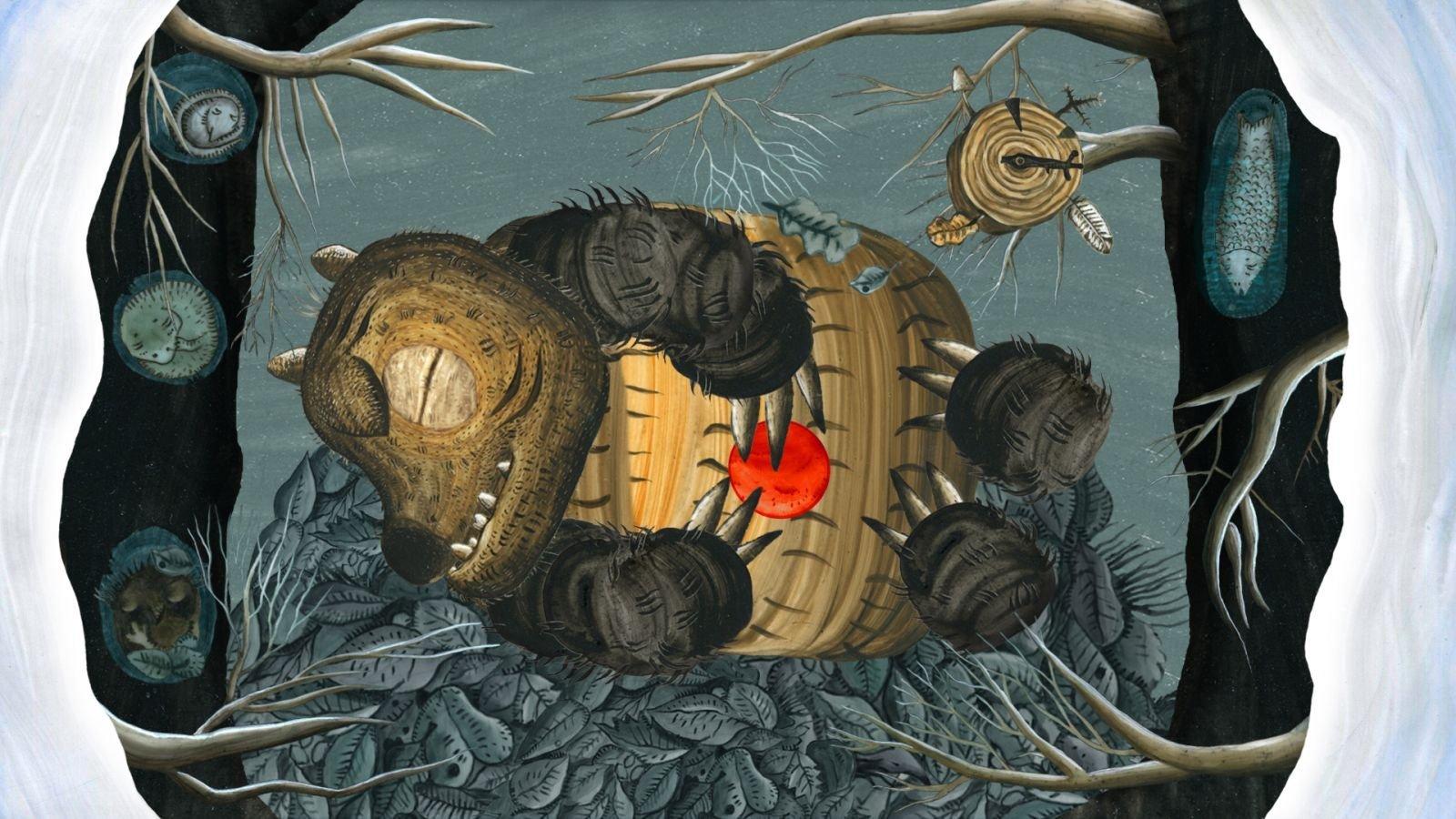 Кадр з анімацыйнай ленты Якія сны сніць мядзведзь