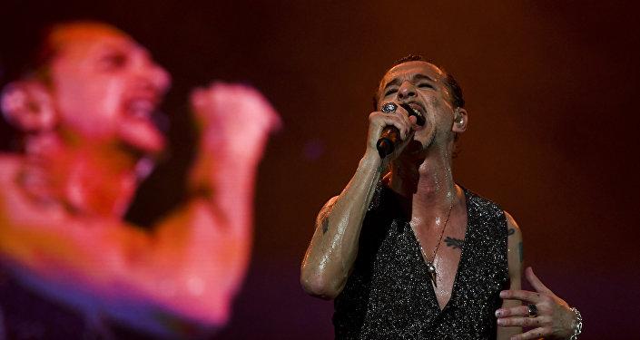 Солист британской рок-группы Depeche Mode Дэйв Гаан