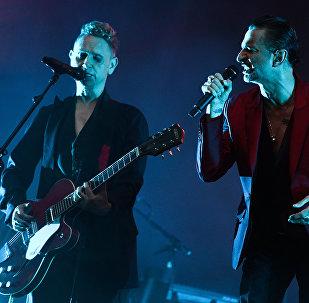 Гурт Depeche Mode, архіўнае фота
