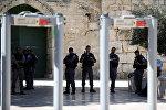 Полиция на Храмовой горе в Иерусалиме