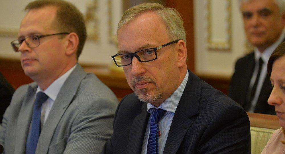 Председатель делегации Европейского парламента по связям с Беларусью, депутат Европарламента (Польша) Богдан Здроевский