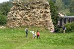 Крэўскі замак, архіўнае фота