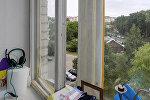 Окно, из которого выпала девочка