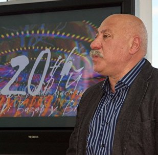 Радзівон Бас на прэс-канферэнцыі 19 мая 2011 года