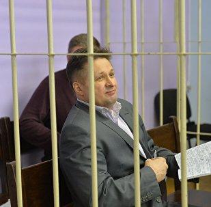 Геннадий Господарик в зале суда