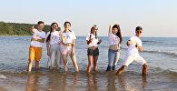 Участники Международного вокального конкурса Ты супер! из Армении, Казахстана, Молдовы и Южной Осетии