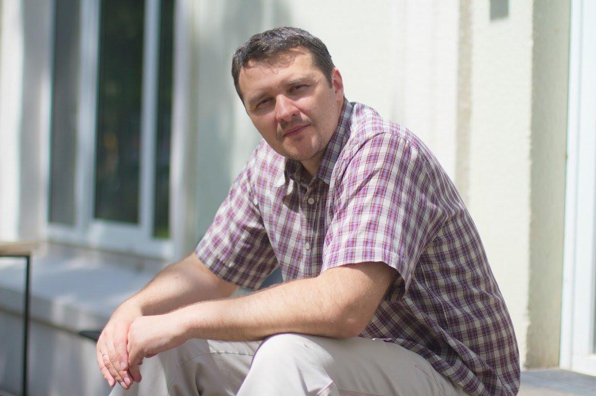 Владелец кофейни Алексей Шинкаренко