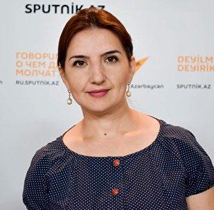 Специальный корреспондент Sputnik Азербайджан Рамелла Ибрагимхалилова