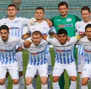Футболисты Динамо-Минск