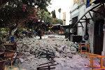 Последствия землетрясения на острове Кос в Греции
