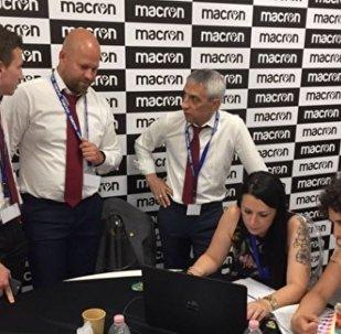 Представители Macron и АБФФ