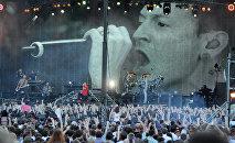 Американская рок-группа Linkin Park в Москве, архивное фото