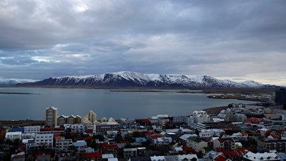 Столица Исландия Рекьявик, архивное фото