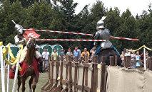 Конны рыцарскі турнір і Бітва Двароў прайшлі ў Дудутках