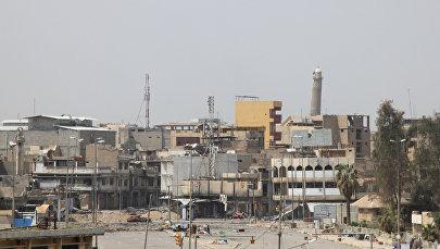 Разрушенные здания в Мосуле, архивное фото