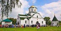 Спаса-Вазнясенскі манастыр у пасёлку Баркалабава Быхаўскага раёна, дзе знаходзіцца цудатворны абраз