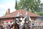 Конны турнір на фэсце Наш Грунвальд