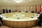 Встреча президента Беларуси Александра Лукашенко с руководством корпорации Росатом 24 июля 2017 года