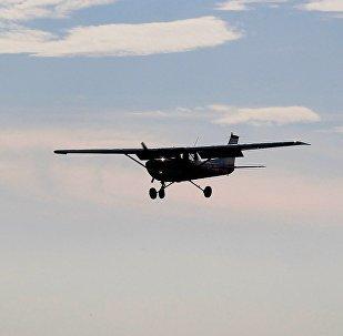 Небольшой самолет, архивное фото